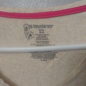 """No Boundaries Tops - Three """"No Boundaries"""" long sleeve tops"""